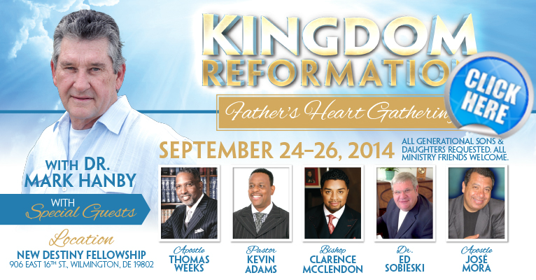 Father's Heart Gathering September 24-26, 2014