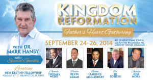 Kingdom Reformation- DVD/Video Series for September 2014 Gathering